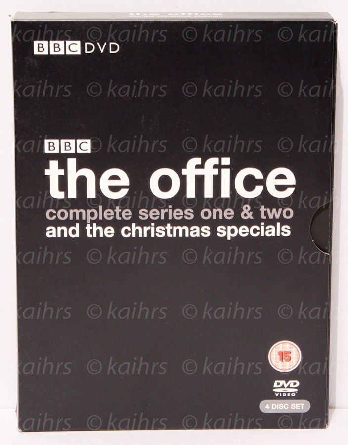 Bbc The Office 4 Dvd Boxset Complete Series 1 2 Christmas Specials