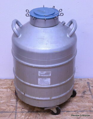 Union Carbide Cryogenic Liquid Nitrogen Container W Canisters Type Ld-30