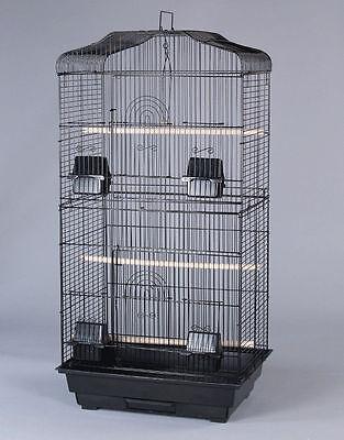 Large Tall Canary Parakeet Cockatiel LoveBird Finch Bird Cage 1703H - 637