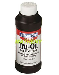 Tru-Oil-8-OZ-23035-Gun-Stock-Finish-Birchwood-Casey-Truoil-Wood-Oil-Protectant