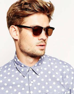 WOMEN/MEN Fashion Clubmaster Style Glasses  Lens Half Frame Retro Nerd (Nerd Style Men)