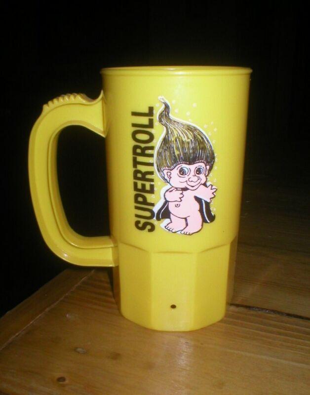 SUPERTROLL Plastic Drinking Mug with Handle Supermug U.S.A.