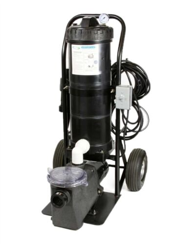MINI PORTABLE VACUUM II comes w/1 HP Pump 100 Sqr ft cartridge 1 Year Warranty