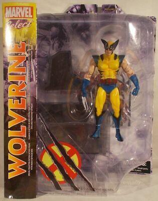 Marvel Select Wolverine Classic X-Men Logan Yellow Tiger Stripe Diamond - Wolverine Classic