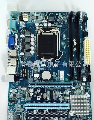 1156 Support (Intel H55 Micro ATX LGA 1156 Computer Motherboard Support LGA 1156/Socket H NEW)