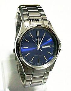 Casio-MTP-1239D-2A-Quartz-Analogue-Blue-Dial-Day-Date-Classic-Gents-Mens-Watch