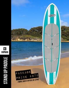 STAND UP PADDLE BOARDS // K-STARS SURF SKATE & PADDLE Adamstown Newcastle Area Preview
