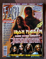 Flash Italian Magazine 110 Anno 1998 Iron Maiden Blind Guardian Van Halen -  - ebay.it
