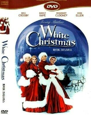 White Christmas (1954) Bing Crosby, Danny Kaye, Rosemary Clooney [DVD] FAST SHIP