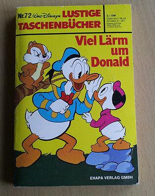 """Walt Disneys - Taschenbuch Nr. 72 """"Viel Lärm um Donald"""" - über 250 Seiten gtZu"""