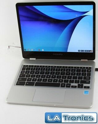 """Samsung Chromebook Pro 510C24I 12.3"""" M3-6Y30 4GB 32GB SSD Silver Laptop"""