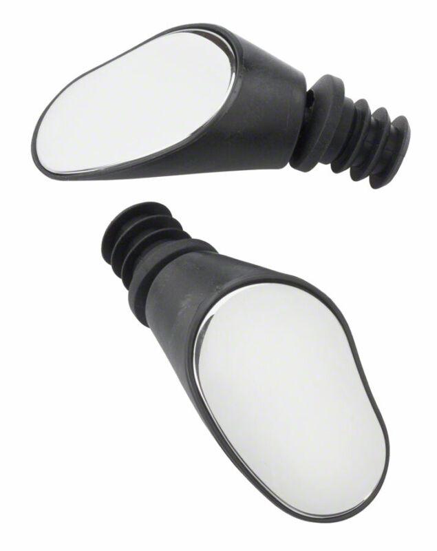 Sprintech Dropbar Mirror: Double~ Black