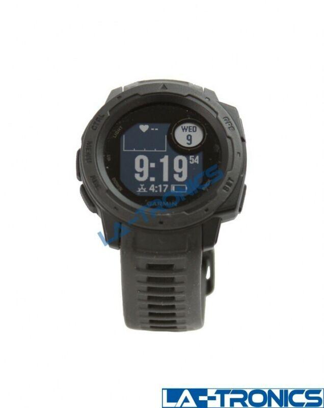 Garmin Instinct 010-02064-00 45mm Graphite Rugged Outdoor GPS Smart Watch