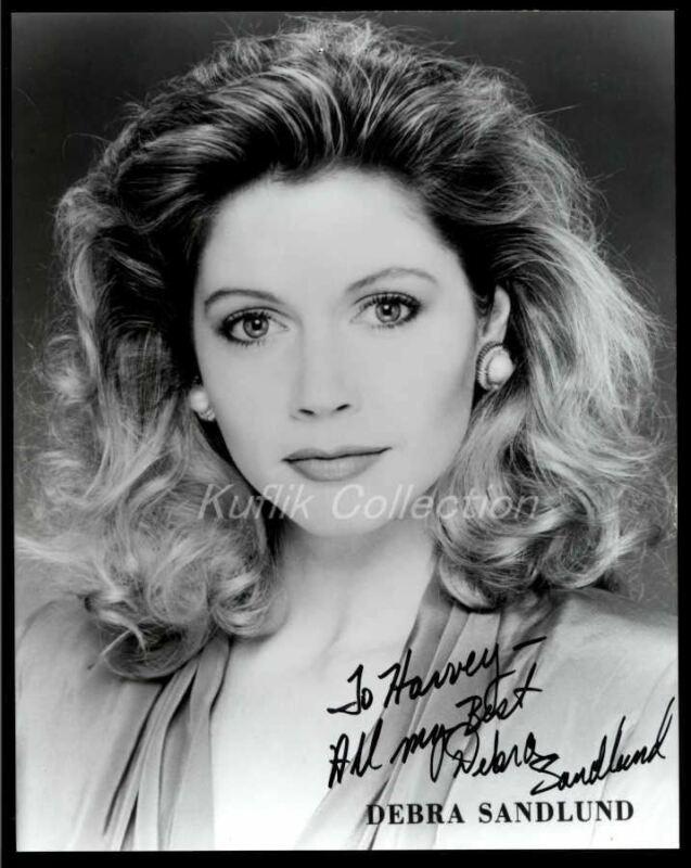 Debra Sandlund - Signed Autograph Headshot Photo - Murder By Numbers - Actress