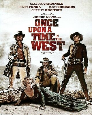 Western Film Once Upon a Time in the West Cowboy Movie Art POSTER 32x24""