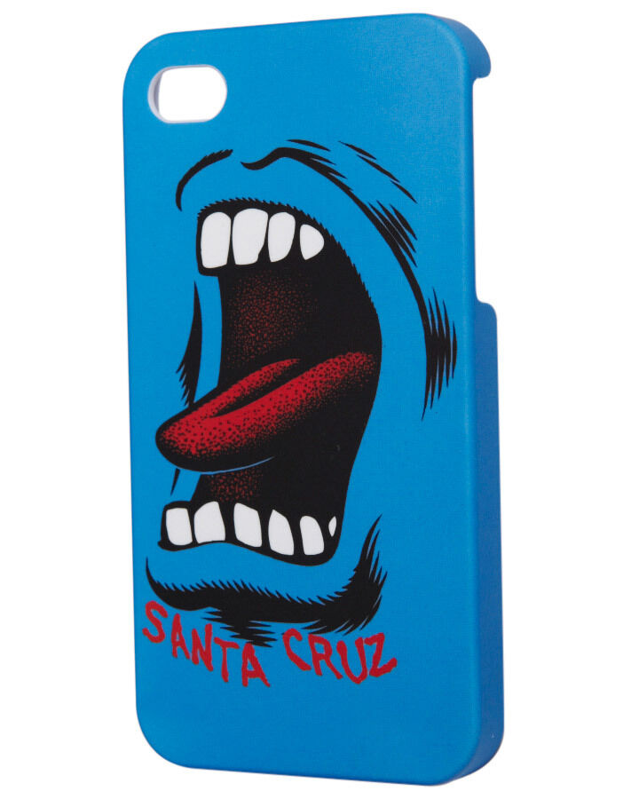 Santa Cruz iPHONE 4 / 4s Screaming Hand Case Cover Skate Board Hip NEW FREE POST