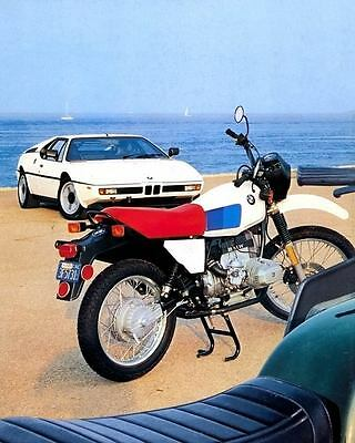 1981 BMW R80G/S Motorcycle M1 Photo Poster zc3975-TVPHVD