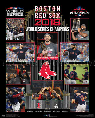 - Boston Red Sox 2018 World Series Championship Picture Plaque