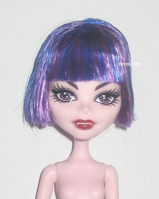 Monster High CAM Create a Monster Cat & Witch Girl Purple Blue Hair Doll Wig NEW](Monster High New Girls)