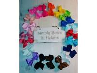 Small size jojo hair bows