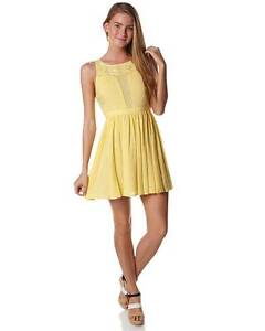 Brand New Canary Voile Applique Dress - Size 8 Waterloo Inner Sydney Preview