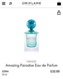 Amazing Paradise Perfume from Oriflame
