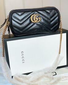 Gucci mini quilted handbag shoulder bag