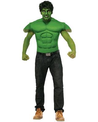 Captain America Bürgerkrieg Hulk Erwachsene Muskelkostüm Marvel Comics Rubies