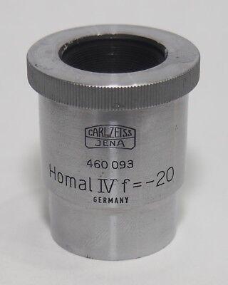 Carl Zeiss Jena Homal Iv F-20 Eyepiece