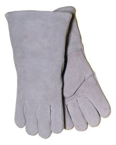 Tillman Stick Welding Gloves Premium Shoulder Split Cowhide No.1000X
