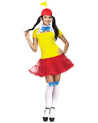 Tweedle Dum And Dee Costumes (Sexy Tweedle Dee And Dum Womens Costume Size)