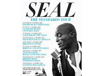 2 Tickets for Seal 10/2/2017