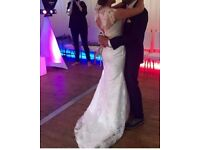 Size 10/12 £250 ONO handmade wedding dress