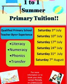 Summer Tuition South Armagh area