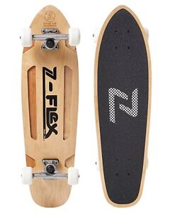 Z FLEX CRUISER SKATEBOARD - NATURAL McMahons Point North Sydney Area Preview