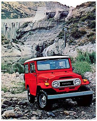 1974 1975 Toyota Land Cruiser Automobile Photo Poster zc1743-GJWX4T