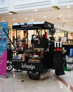 Coffee Cart on a bicycle - Wheelys Café West Melbourne Melbourne City Preview