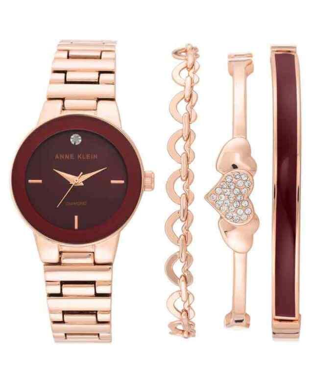 Anne-Klein-Quartz-Ladies-Watch-and-Bracelet-Set-AK-3382BRST