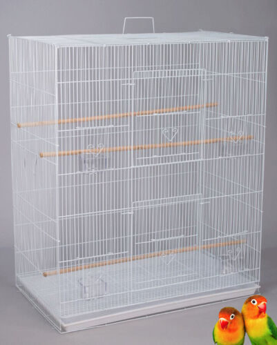 Large Breeding Flight Bird Cage For Parakeets Cockatiels Budgies Finches Aviary