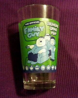 The Official Family Guy Drinking Game Pint Tumbler