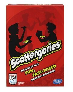 Scattergories Game from Hasbro - NEW