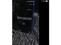 HP 500B P4 3,2 dual core 320gb HD 2GB ram.