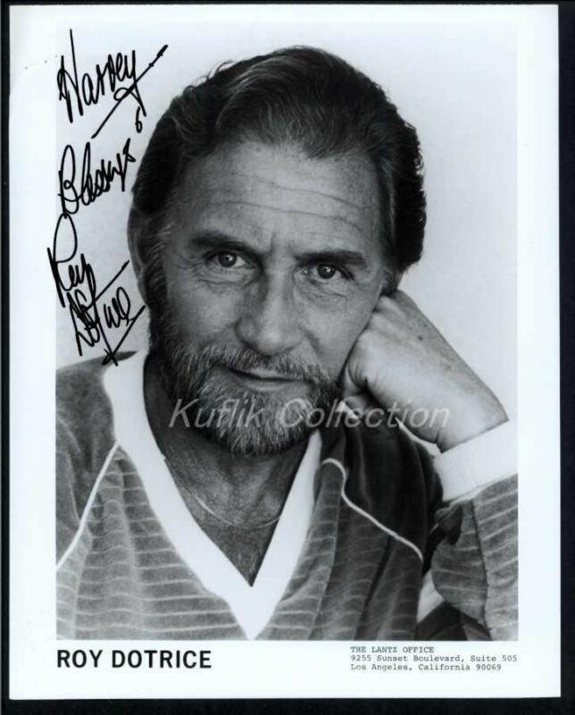 Roy Dotrice - Signed Autograph Headshot Photo - Amadeus - Actor