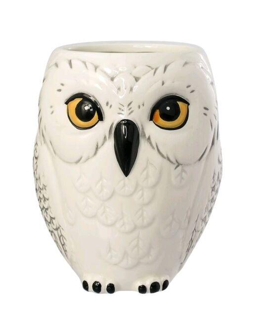 *NEW* Harry Potter - Hedwig Snowy Owl 3D Boxed Mug - Ikon