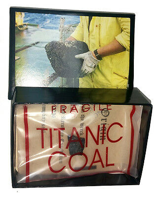 Titanic Coal Presentation Box W  Coa  Limited Quantity