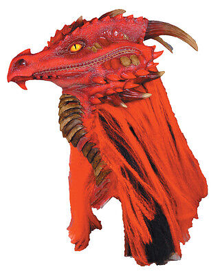 Halloween LifeSize Costume BRIMSTONE DRAGON PREMIERE DELUXE MASK Haunted House](Premier Halloween Costumes)