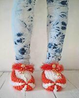 Pantoufles de tricot
