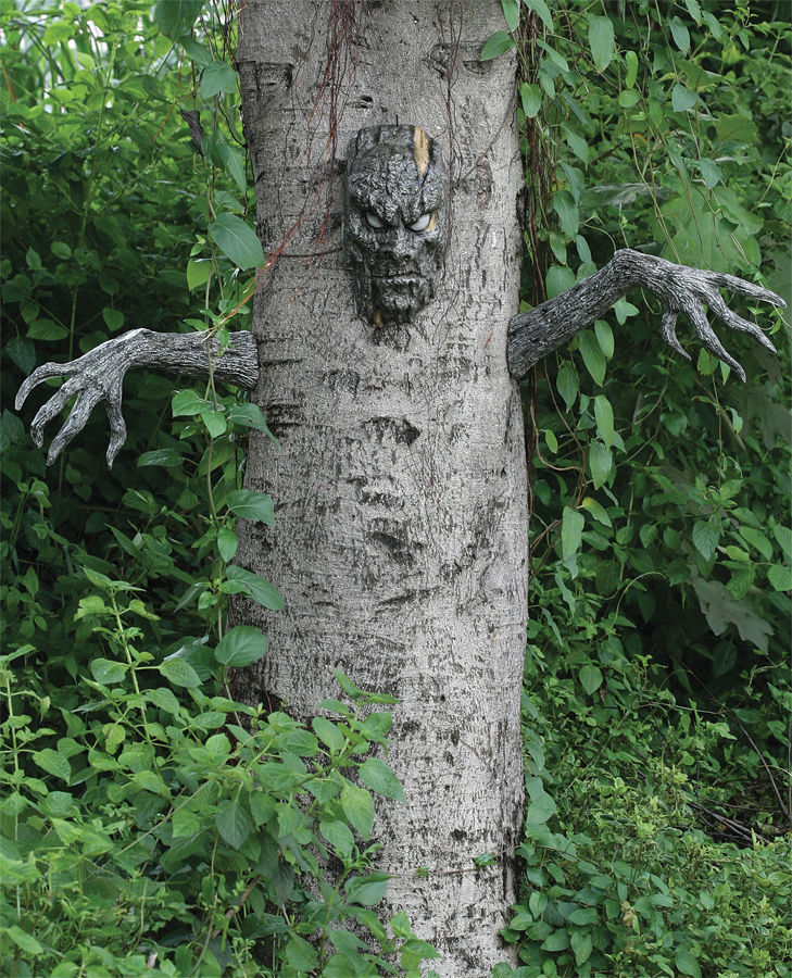 Cool halloween costumes props ebay for Creepy trees for halloween