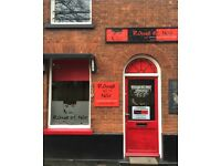 Hair Stylist- full/part time required to rent-a-chair. Dereham