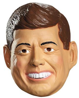 ADULT PRESIDENT JOHN KENNEDY FULL LATEX MASK COSTUME DG87141](Jfk Mask)